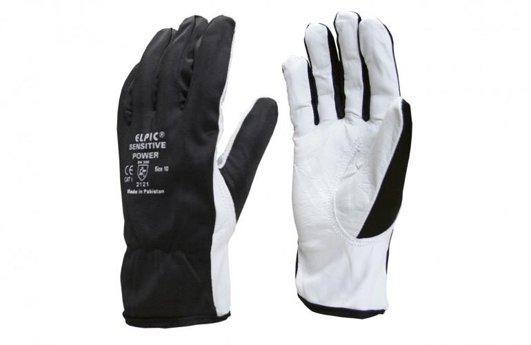 Elpic® Sensitive Power Siyah Polyester Kumaşlı