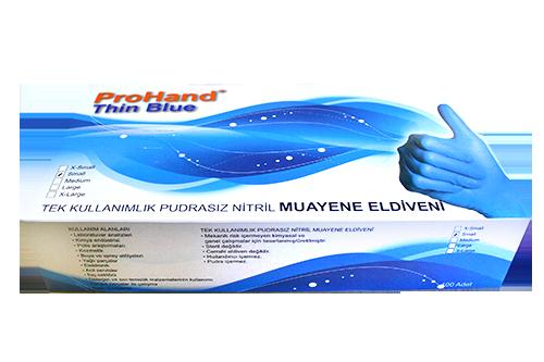 Kullan at eldiven Thin Blue