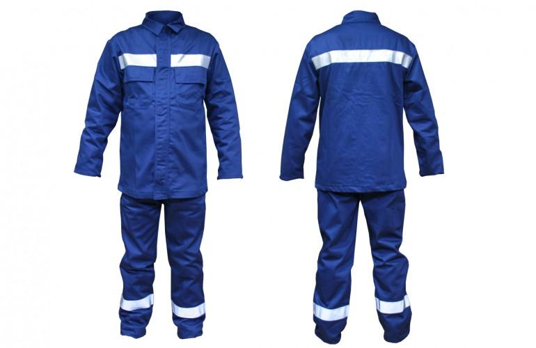 ProWeld 100RF-102RF Reflektörlü Isı ve Aleve Karşı Koruyucu Elbise